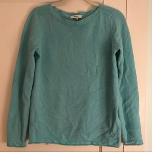 Madewell baby blue sweater